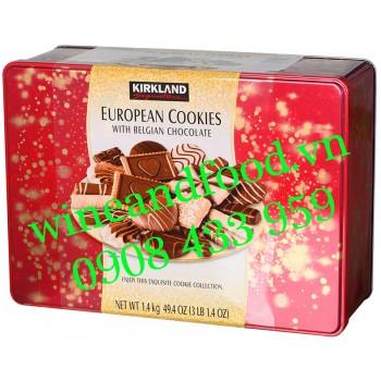Bánh quy socola European Kirkland 1400g