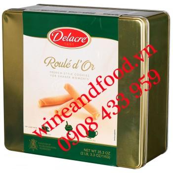 Bánh trứng nướng cuộn Roulé d'Or Delacre 1kg