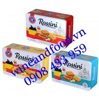 Bánh xốp kem hạt dẻ Rossini hộp thiếc 250g