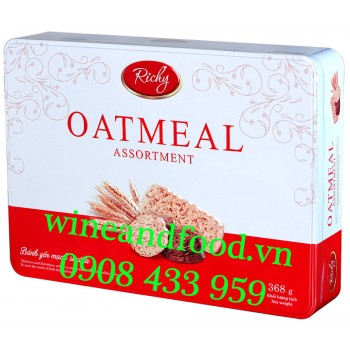 Bánh yến mạch socola Oatmeal Richy 368g