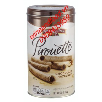 Bánh ống quế Pepperidge Farm chocolate hazelnut 382g