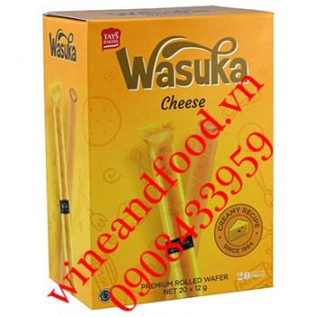 Bánh ống quế Wasuka phô mai 240g
