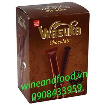 Bánh ống quế Wasuka socola 240g