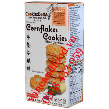 Bánh quy bắp Cornflakes Cookissdotmy 90g