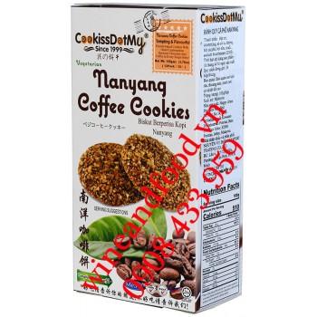 Bánh quy cà phê Nanyang Cookissdotmy 105g