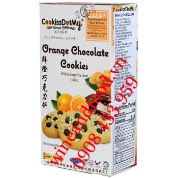 Bánh quy Cam Socola Cookissdotmy 90g