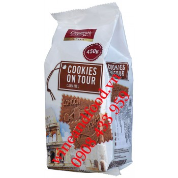 Bánh quy Caramel Cookies On Tour Coppenrath 450g