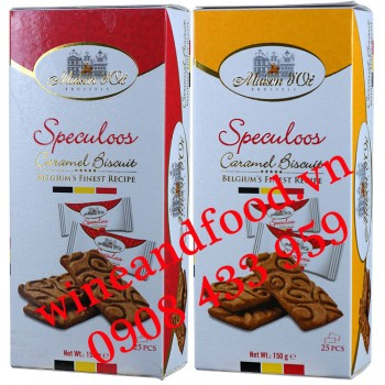 Bánh quy Caramel Speculoos Maison D'or Bỉ 150g