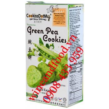 Bánh quy Đậu Hà Lan Cookissdotmy 100g