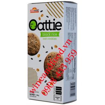 Bánh quy Gạo Nếp Cẩm Oattie Sunrise 144g