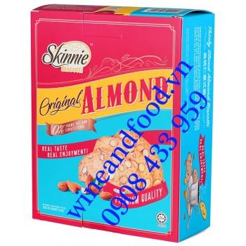 Bánh quy Hạnh nhân Original Almond Skinnie Biscotti 135g