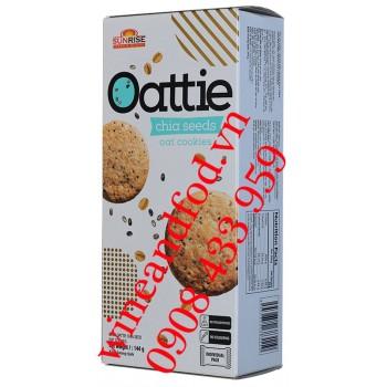 Bánh quy hạt Chia Oattie Sunrise 144g