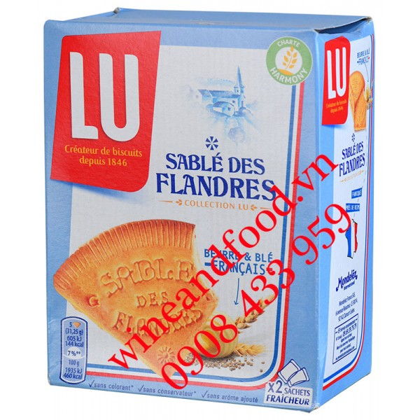 Bánh quy LU Sablé Flandres 250g