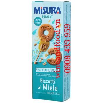 Bánh quy mật Ong Misura Biscotti Al Miele 100g