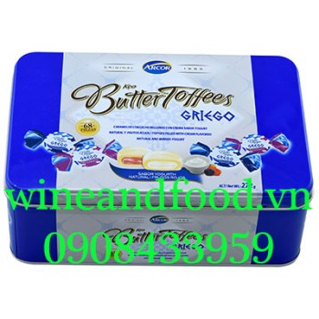 Kẹo Butter Toffees Griego hộp 272g