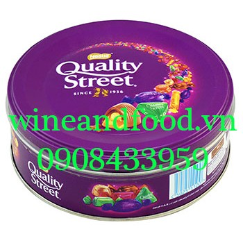 Kẹo hỗn hợp socola toffees Quality Street Nestle 240g