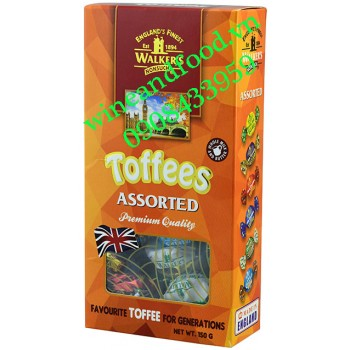 Kẹo Toffees Assorted Walker's 150g
