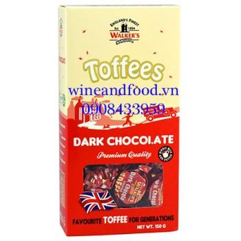 Kẹo Toffees socola đen Walker's 150g