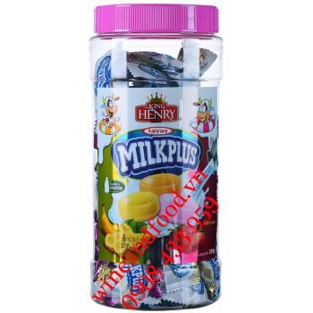 Kẹo sữa mềm Milkplus King Henry Tayas 350g