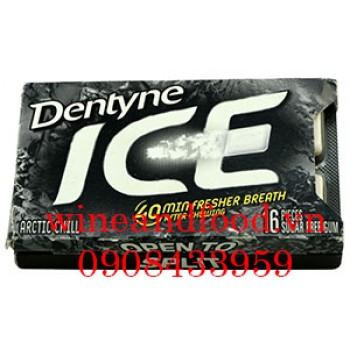 Kẹo cao su chewing gum Dentyne Ice không đường 16 viên