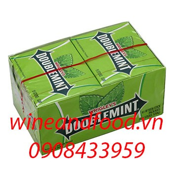 Kẹo cao su chewing gum Doublemint 15 miếng