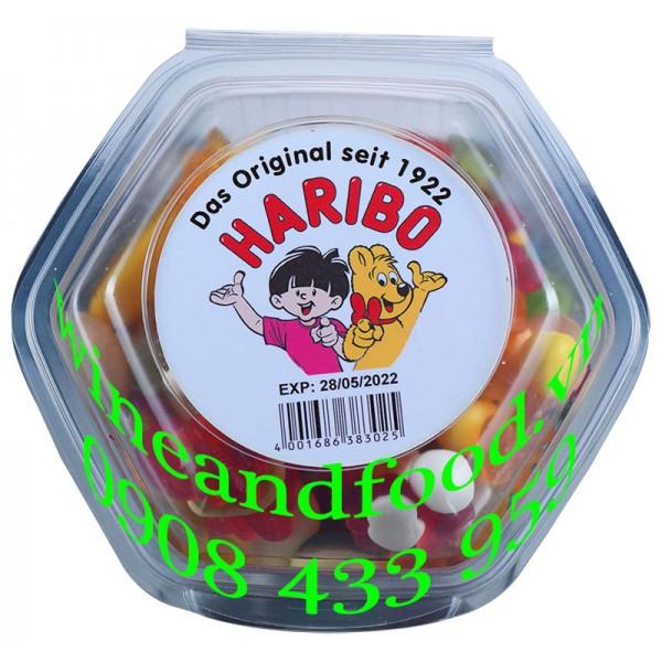 Kẹo dẻo Haribo hộp lục giác 450g