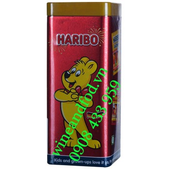 Kẹo dẻo Haribo Sweet Collection hộp thiếc 192g