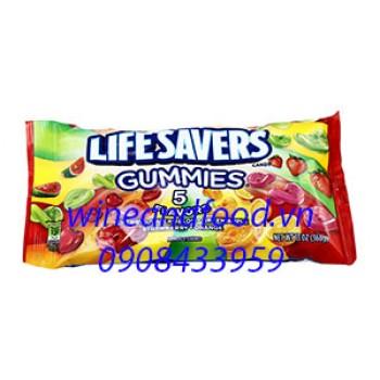 Kẹo dẻo Lifesavers Gummies 5 mùi 368g
