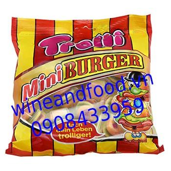 Kẹo dẻo Mini Burger Trolli 170g