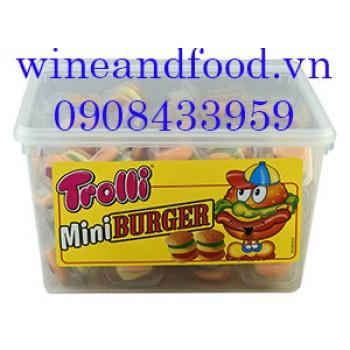 Kẹo dẻo Mini Burger Trolli 600g