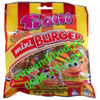 Kẹo dẻo Mini Burger Trolli 90g