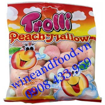 Kẹo dẻo Peach Mallow Trolli 150g