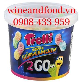 Kẹo dẻo Saure Gluhwurmchew Trolli 150g