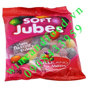 Kẹo dẻo Soft Jubes Lolliland 225g