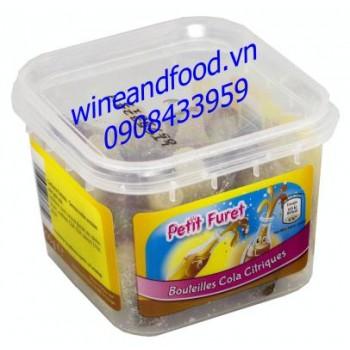 Kẹo dẻo trái cây chai coca chanh Petit Furet 200g