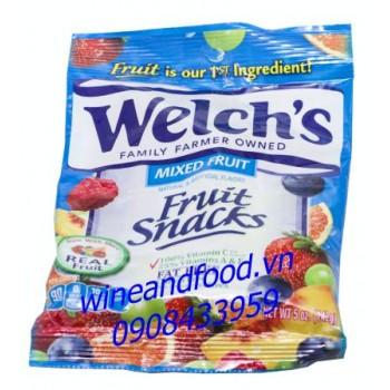 Kẹo dẻo trái cây hỗn hợp Welch's 142g