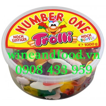 Kẹo dẻo Trolli Number One hộp 1000g