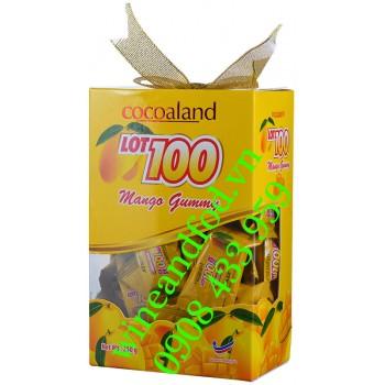 Kẹo dẻo Xoài Lot 100 Cocoaland hộp 250g