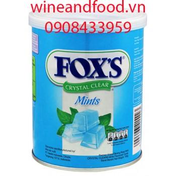Kẹo Fox's bạc hà 180g