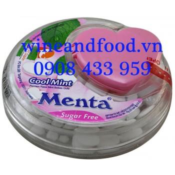 Kẹo Menta Coolmint Bạc Hà không đường 15g