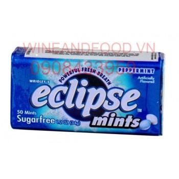 Kẹo ngậm Eclipse Bạc Hà không đường 34g