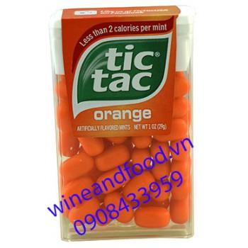 Kẹo ngậm Tic Tac cam 29g