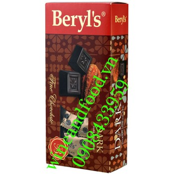 Kẹo socola Đen Beryl's hộp 125g