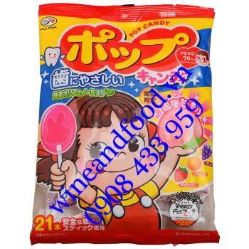 Kẹo que mút Pop Candy Nhật Bản Fujiya 21 cây