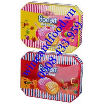 Kẹo trái cây Bonart Milk'n Fruit King Henry 300g