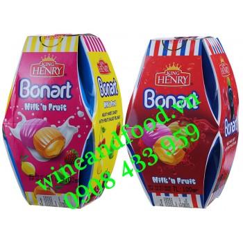 Kẹo trái cây Bonart Milk'n Fruit King Henry lồng đèn 100g