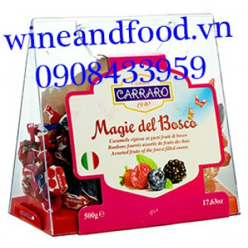 Kẹo trái cây Carraro Magie Del Bosco 500g