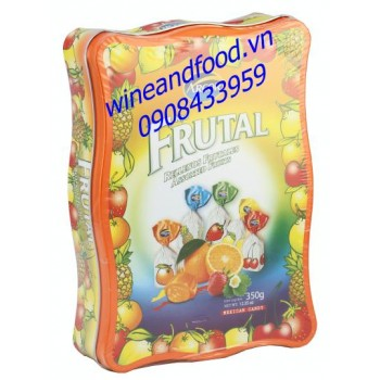 Kẹo trái cây Fruital Arcor 350g