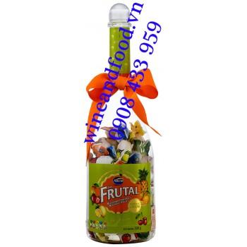 Kẹo trái cây Fruital Arcor chai rượu 300g