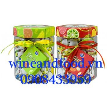 Kẹo trái cây Fruital Arcor hũ nhựa 300g
